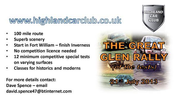 The Great Glen 2013 Regs