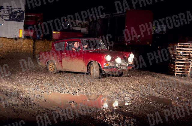 Mark Lennox's Ford Anglia - Photo by DA Photographic, http://www.daphotographic.co.uk
