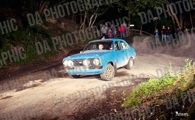 Meirion Evans' Ford Escort Mk2 - Photo by DA Photographic, http://www.daphotographic.co.uk
