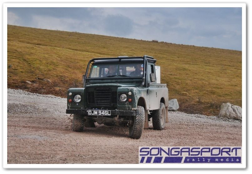 Phil Griffiths' Landrover - Photo by Songasport Rally Media, http://www.facebook.com/Songasport