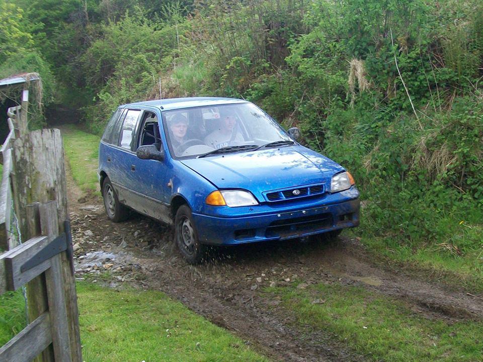 Richard Williams' Subaru Justy - Photo by Chris Clark, http://www.facebook.com/chris.c.clark.90