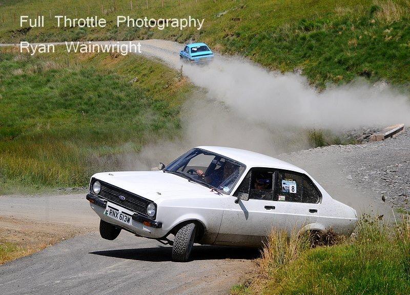 Full Throttle Photography capturing Lewis Morgan & Cadog Davies cocking a wheel