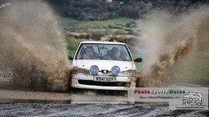 Photo Sports Wales capturing Gareth 'G' Owen & Craig Mills splashing about at Pembrey