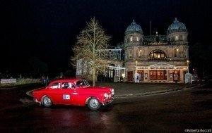Richard McAllister & Jo McAllister in front of the Buxton Opera House on the Rally of The Tests by Francesco Rastrelli