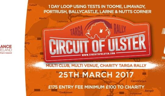 Circuit of Ulster 2017 Regs